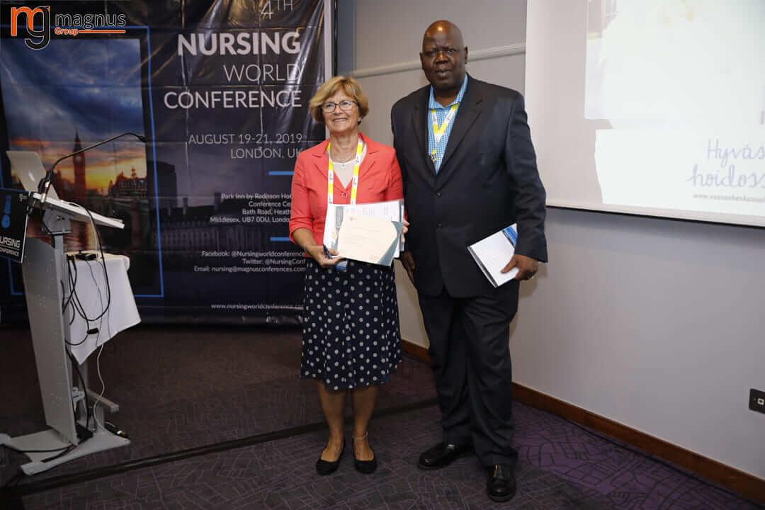 Nursing Research Conferences- Susanne Salmela
