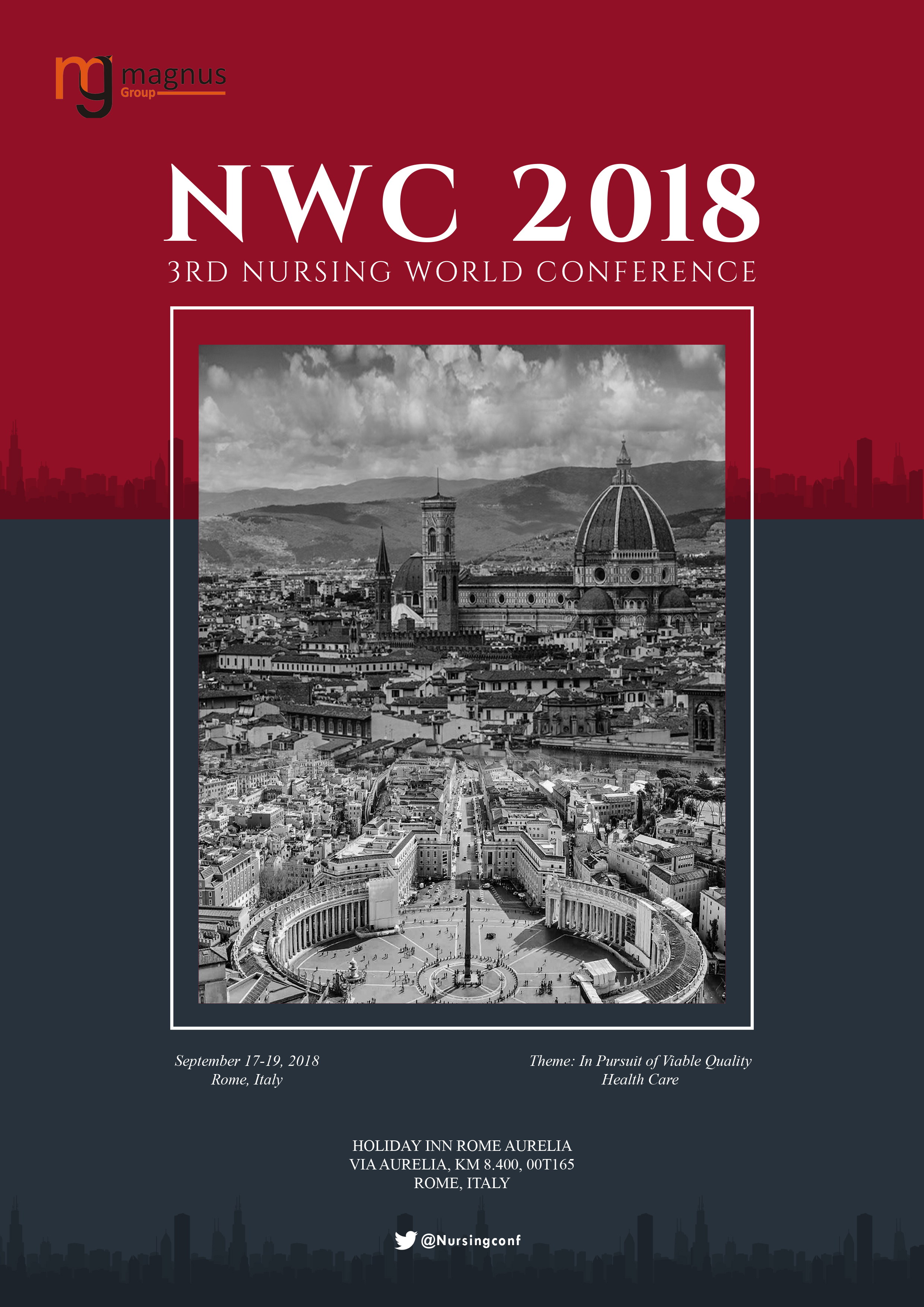 3rd Nursing World Conference | Rome, Italy Book