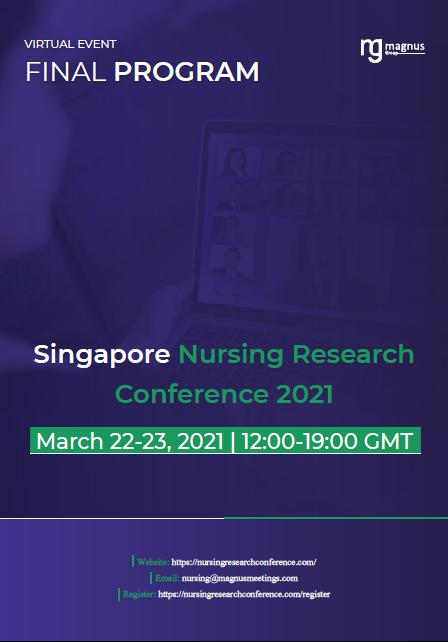 Singapore Nursing Research Conference | Online Event Program