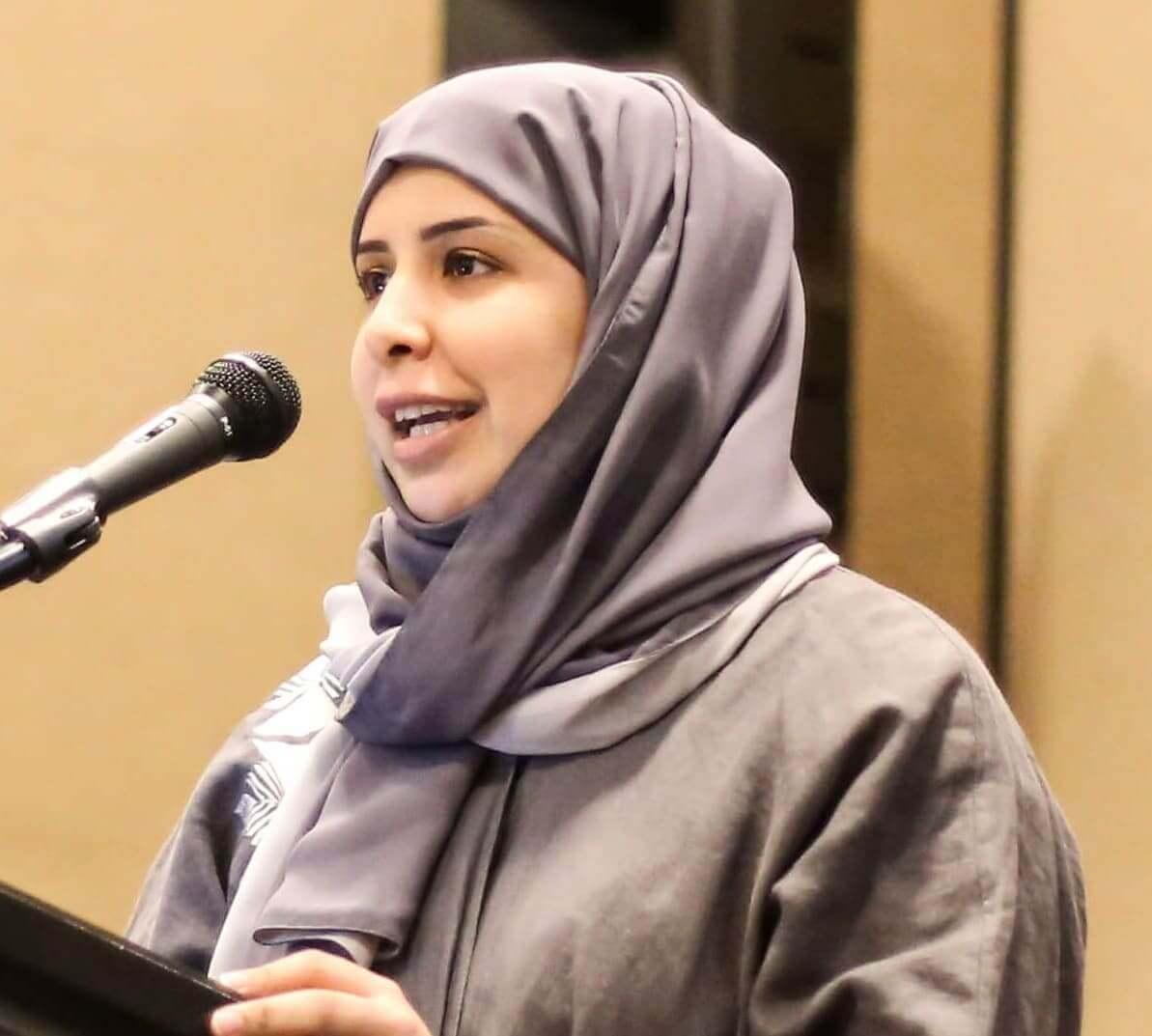 Speaker at top Nursing conference- Badriya Khalifa Al Shamari