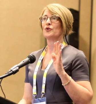 Speaker at Nursing education conferences- Valerie Provan